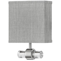 Hinkley 41601BN Luster LED 8 inch Brushed Nickel ADA Sconce Wall Light Galerie