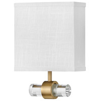 Hinkley 41602HB Galerie Luster LED 8 inch Heritage Brass ADA Sconce Wall Light