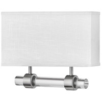 Hinkley 41604BN Galerie Luster LED 15 inch Brushed Nickel ADA Sconce Wall Light