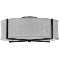 Hinkley 41709BK Axis LED 26 inch Black Semi-flush Ceiling Light Galerie