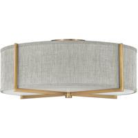 Hinkley 41709HB Galerie Axis LED 26 inch Heritage Brass Semi-Flush Mount Ceiling Light