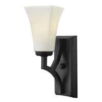 Hinkley 4190TB Spencer 1 Light 5 inch Textured Black Sconce Wall Light
