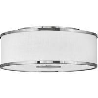 Hinkley 42008BN Galerie Halo LED 18 inch Brushed Nickel Flush Mount Ceiling Light