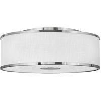 Hinkley 42010BN Halo LED 24 inch Brushed Nickel Foyer Light Ceiling Light Galerie