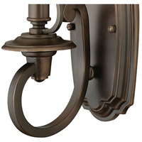 Hinkley 4240OB Plymouth 1 Light 7 inch Olde Bronze Sconce Wall Light alternative photo thumbnail