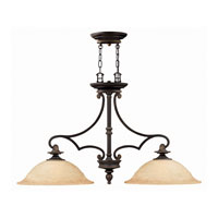 Hinkley Lighting Plymouth 2 Light Chandelier in Olde Bronze 4252OB