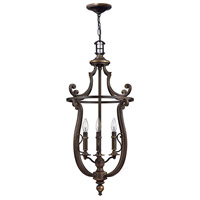 Hinkley 4254OB Plymouth 4 Light 18 inch Olde Bronze Hanging Foyer Ceiling Light