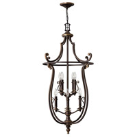 Hinkley 4258OB Plymouth 8 Light 24 inch Olde Bronze Foyer Light Ceiling Light