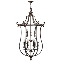 Hinkley 4259OB Plymouth 9 Light 30 inch Olde Bronze Chandelier Ceiling Light