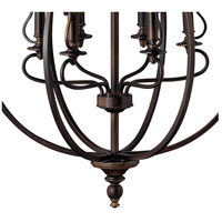 Hinkley 4259OB Plymouth 9 Light 30 inch Olde Bronze Chandelier Ceiling Light alternative photo thumbnail