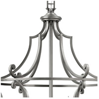 Hinkley 4259PL Plymouth 9 Light 30 inch Polished Antique Nickel Chandelier Ceiling Light alternative photo thumbnail