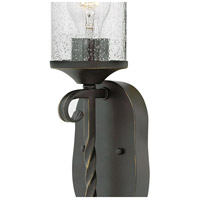 Hinkley 4300OL-CL Casa 1 Light 5 inch Olde Black Sconce Wall Light in Clear Seedy alternative photo thumbnail