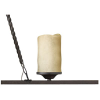 Hinkley 4304OL Casa 6 Light 54 inch Olde Black Linear Chandelier Ceiling Light, Island alternative photo thumbnail