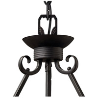 Hinkley 4314OL Casa 4 Light 28 inch Olde Black Foyer Pendant Ceiling Light in Incandescent alternative photo thumbnail