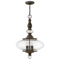 Hinkley 4325OZ Wexley 5 Light 18 inch Oil Rubbed Bronze Chandelier Ceiling Light