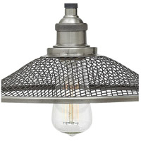 Hinkley 4360DZ Rigby 1 Light 10 inch Aged Zinc Sconce Wall Light, Mesh Shades alternative photo thumbnail