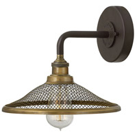 Hinkley Lighting Rigby 1 Light Sconce in Buckeye Bronze 4360KZ