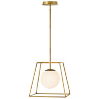 Hinkley 4377HB Jonas 1 Light 13 inch Heritage Brass Pendant Ceiling Light