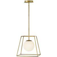 Hinkley 4377HB Jonas 1 Light 13 inch Heritage Brass Pendant Ceiling Light