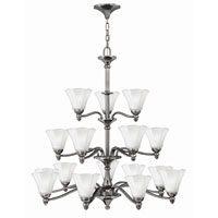 Hinkley Lighting Bloom 18 Light Chandelier in Polished Antique Nickel 4379PL photo thumbnail