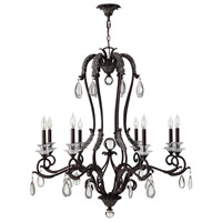 Hinkley Lighting Marcellina 8 Light Chandelier in Golden Bronze 4404GR photo thumbnail