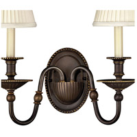 Hinkley 4412OB Cambridge 2 Light 14 inch Olde Bronze Sconce Wall Light alternative photo thumbnail