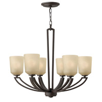 Parker 6 Light 26 inch Buckeye Bronze Chandelier Ceiling Light