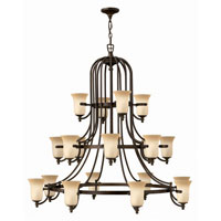 Hinkley Britannia 3 Tier 20Lt Chandelier in Antique Bronze 4489AT photo thumbnail