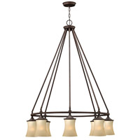 Thistledown 8 Light 36 inch Victorian Bronze Chandelier Ceiling Light