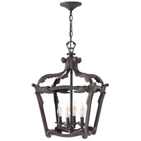 Hinkley 4526AI Sorrento 4 Light 16 inch Aged Iron Foyer Light Ceiling Light