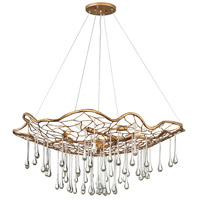 Hinkley 45306BNG Laguna 6 Light 36 inch Burnished Gold Chandelier Ceiling Light, Single Tier
