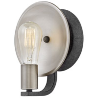 Hinkley 4530DZ Boyer 1 Light 7 inch Aged Zinc Sconce Wall Light