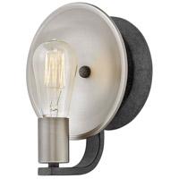 Hinkley 4530DZ Boyer 1 Light 7 inch Aged Zinc Sconce Wall Light