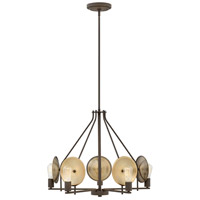 Boyer 5 Light 28 inch Oil Rubbed Bronze Chandelier Ceiling Light