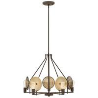 Hinkley 4535OZ Boyer 5 Light 28 inch Oil Rubbed Bronze Chandelier Ceiling Light