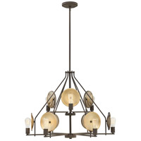 Hinkley 4538OZ Boyer 9 Light 35 inch Oil Rubbed Bronze Chandelier Ceiling Light