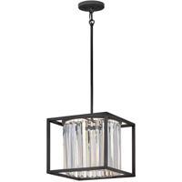 Hinkley 4554BK Giada 1 Light 12 inch Black Pendant/Semi-Flush Mount Ceiling Light