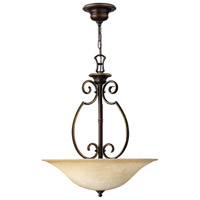 Cello 3 Light 20 inch Antique Bronze Hanging Foyer Ceiling Light