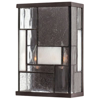 Hinkley 4570KZ Mondrian 2 Light 7 inch Buckeye Bronze ADA Sconce Wall Light