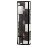 Mondrian 3 Light 7 inch Buckeye Bronze ADA Sconce Wall Light