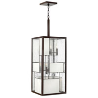 Hinkley 4576KZ Mondrian 12 Light 14 inch Buckeye Bronze Hanging Foyer Ceiling Light