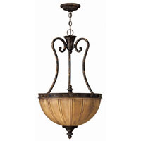 Hinkley Monet Pendant 3Lt Foyer in Forum Bronze 4584FB
