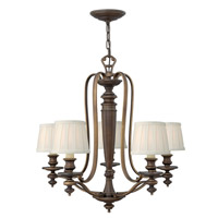 Dunhill 5 Light 27 inch Royal Bronze Chandelier Ceiling Light