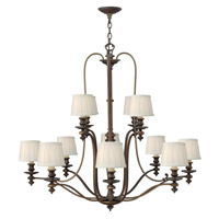 Hinkley Lighting Dunhill 12 Light Chandelier in Royal Bronze 4599RY