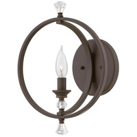 Waverly 1 Light 10 inch Oil Rubbed Bronze Sconce Wall Light