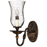 Hinkley Lighting Rockford 1 Light Sconce in Forum Bronze 4620FB