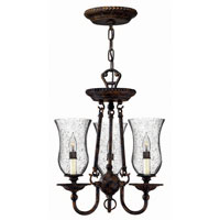 Hinkley Lighting Rockford 3 Light Chandelier in Forum Bronze 4623FB photo thumbnail
