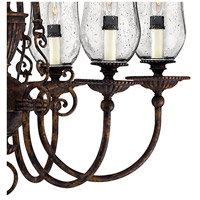 Hinkley 4626FB Rockford 6 Light 27 inch Forum Bronze Foyer Chandelier Ceiling Light alternative photo thumbnail