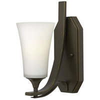 Hinkley 4630OB Brantley 1 Light 5 inch Olde Bronze Bath Sconce Wall Light in Etched Opal