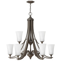 Hinkley 4638OZ-WH Brantley 9 Light 33 inch Oil Rubbed Bronze Foyer Chandelier Ceiling Light